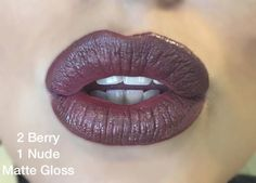 Berry and Nude LipSense