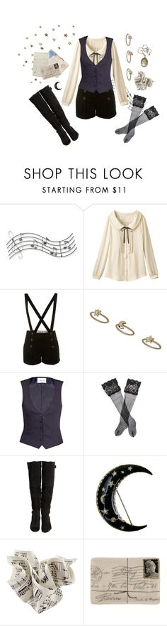 """""""Find Me Beneath the Corsican Stars"""" by vogelprinz ❤ liked on Polyvore featuring Music Notes, Miss Selfridge, Topshop, PALLAS, La Perla, Beau Coops, BRONTE and Vintage Collection"""