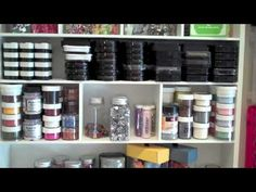 RobynStamps Episode 332   My NEW Pink Loft   Craft Room Tour Oct 2014