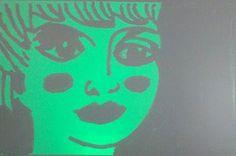 Color Llum, filtre verd.