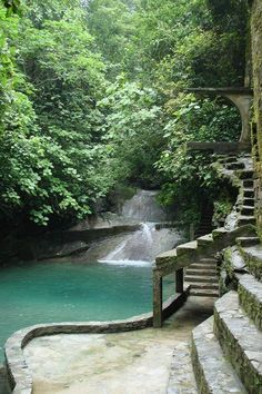 Las Pozas, Xilitla, Mexico pinned with #Bazaart - www.bazaart.me