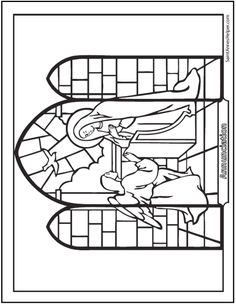 Stained Glass Window Coloring Page Luxury 21 Stained Glass Coloring Pages Church Window Printables Rose Coloring Pages, Online Coloring Pages, Coloring Pages To Print, Free Coloring, Coloring Books, Catholic Catechism, Stained Glass Rose, Christian Crafts, Coloring Sheets For Kids