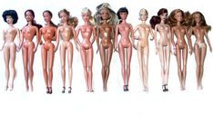 Comparing Barbie body types - learn everything about Barbie bodies with this link! VERY IMFORMATIVE!