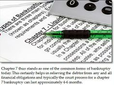 Take a trip to the Massachusetts bankruptcy firm if you find yourself deep in debt and if you are serious about starting your life afresh. Also If you are serious about stopping the lender from harassing you then Massachusetts bankruptcy filing stands as your best bet. http://www.scribd.com/doc/226331504/About-the-Massachusetts-bankruptcy-law-lawyer-and-help