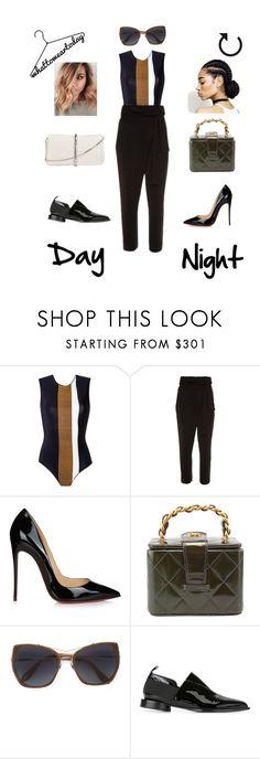 """What To Wear Today"" by ingridsammara on Polyvore featuring moda, Haight, Christian Louboutin, Chanel, Givenchy, Alain Tondowski e 3.1 Phillip Lim"