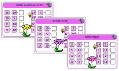 Rekenen: Bewerkingen met de magnetische rekendoos School, Dozen, Circuit, Schools