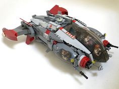 """Gryphon Objective aggressive exploration vessel"" by Buster: Pimped from Flickr"