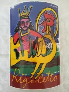 Currently at the Catawiki auctions: Corneille - Rigoletto vase