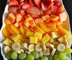 fresh fruit for breakfast!
