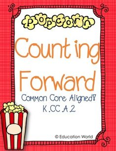 K.CC.A.2 - Count forward beginning from a given number within the known sequence (instead of having to begin at 1).