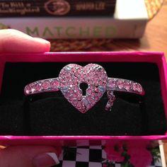Betsey Johhson heart & locket bracelet ❤️