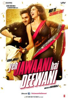 Yeh Jawaani Hai Deewani - Movie Poster #1