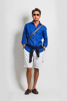 STYLE 31「地中海クルーズや海に行くときに必ず持って行く、真っ青な麻のシャツ」さぁ、いよいよ夏本番。ヴァカンスのシーズン到来です。この夏、皆様はどんな場所に行かれるのでしょうか? 僕は、36…