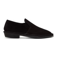 Robert Clergerie - Black Suede Loafers f630b1935