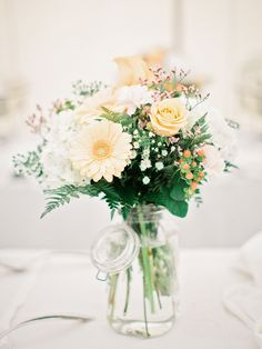 Get expert wedding planning advice and find the best ideas for wedding decorations, wedding flowers, wedding cakes, wedding songs, and more. Rustic Wedding Flowers, Elegant Wedding, Floral Wedding, Our Wedding, Dream Wedding, Floral Centerpieces, Wedding Centerpieces, Flower Arrangements, Centrepieces