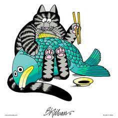 Sushi cat.