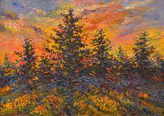 "Yury Ermolenko, ""Railroad blues"", 1991, oil on cardboard, 25x34,5cm. #YuryErmolenko #еrmolenko #ЮрийЕрмоленко #ермоленко #yuryermolenko #юрийермоленко #юрийермоленкохудожник #юрiйєрмоленко #ЮрiйЄрмоленко #єрмоленко #rapanstudio #modernart #fineart #contemporaryart #painting #impressive #colorful #art #picture #живопись #artwork #PleinAir #пленэр #texture #фактура #landscape #пейзаж #railroad #tree #blues"