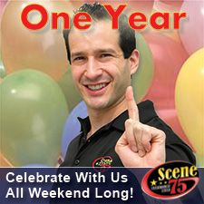 One Year Celebration @ #Scene75 ! - Join us for the big celebration of our ONE-YEAR ANNIVERSARY! Follow us on Facebook to keep up with all the special events, special drinks, contests, special foods, and more!