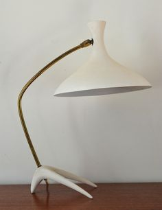 Mid century table lamp Kalff Cosack | A Life Before