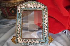 Antique Venetian Micro Mosaic frame dated from the 19th century