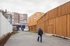 Delhaize Quai de Rome / MDW Architecture + H+G Architects