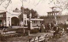 Куйбышев.        Речной вокзал.         Фотография.        1958 год.