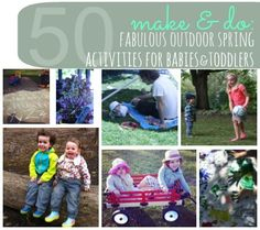 Make & Do: 50 Fabulous Outdoor Spring Activities For Babies & Toddlers | Disney Baby