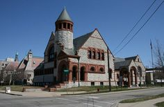 Hoyt Library: Saginaw Michigan. I would hide here for hours. Im almost crying at how much i want to go there again.