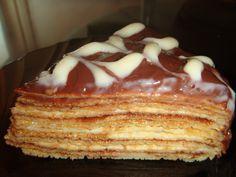 Tort de clatite Waffles, Pancakes, Russian Desserts, Romanian Food, Crepes, Tart, French Toast, Recipies, Deserts