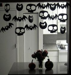 Halloween's home decorations
