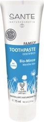 Toothpaste Organic Mint with fluoride by SANTE ✔ Active ingredient complex protects teeth and gums ✔ With a refreshing mint taste ✔ Contains sodium fluoride ✔ Daily dental care for the whole family ✔ Glutenfree & free from microplastics Sante Bio, Oral Hygiene, Active Ingredient, Dental Care, Vodka Bottle, Organic, Personal Care, Health, Vegan