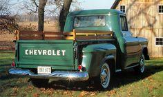 Old Chevy Trucks | 1956 Chevy pickup |Old Chevy pickup|1956 pickup -VINTAGE WORLD ...