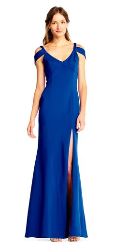 Cold Shoulder Dress, Adrianna Papell, Fashion Ideas, Dresses, Vestidos, Dress, Gown, Outfits, Dressy Outfits