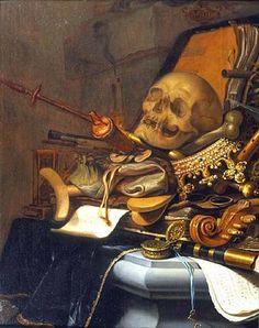 VANIDADES - Vanidades y cráneos - Élisabeth Quin: - El cráneo y - Vanidades (1) - Vanidades (2) - WODKA