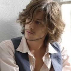 cool sexy medium curly hairstyle for men - Good Long Haircuts for ...