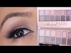NEW Maybelline THE BLUSHED NUDES PALETTE Makeup Tutorial + Review - YouTube