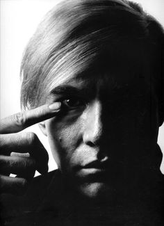 Philippe Halsman: American painter and filmmaker Andy Warhol, 1968