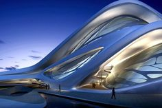 Abu Dhabi, Performing Arts Center, futuristic building, future building, future architecture, Zaha Hadid, futuristic architecture,…
