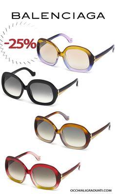 Occhiali Balenciaga  -25% su OcchialiGraduati.com #balenciaga #shopping #style #ss2014 #summer #fashion #glassesonline #woman