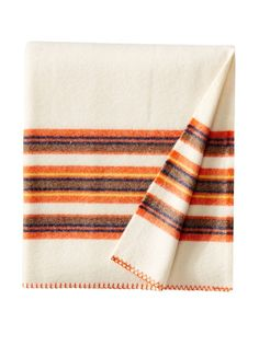Bambeco Rugby Stripe Wool Throw