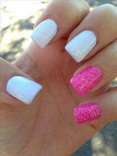 OMG!!!!! I LUVVV THESE NAILS <3 im going to go get my nails done like this!!! right now.