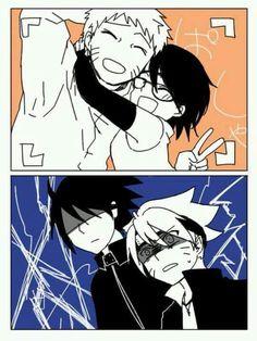 Naruto y Sarada