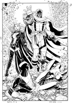 Uncanny X-Men vs All New X-Men by Arthur Adams