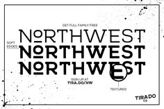 Northwest Free Retro Font - Responsive Joomla and Wordpress themes
