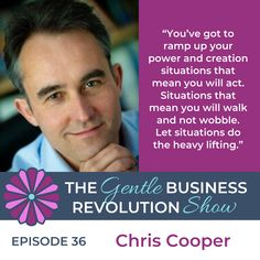Are you aware that the hours we're most productive vary for each of us? If you want to find out how you can leverage your to your advantage, listen to this episode of the podcast with Chris Cooper. Emotional Connection, Getting Things Done, Meant To Be, How To Find Out, Acting, Let It Be, Business, Get Stuff Done