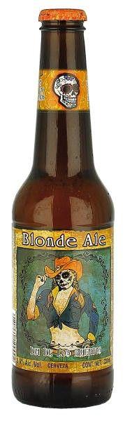 Dia de Los Muertos Death Rides a Pale Horse Blonde Ale | Los Muertos Brewing (Modelo - Anheuser-Busch InBev)