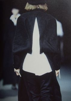 yohji yamamoto FW 1995/1996