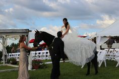 Safety is a priority during these types of events. Making the bride feel safe is a vital part of our job!