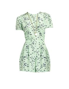 This Brooks Brothers playsuit from their Red Fleece Collection is the prettiest shade of pale pistachio green. I'll wear this while shopping in town and getting ice cream at the Juice Bar.  brooksbrothers.com   - TownandCountryMag.com