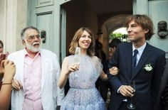 Sofia Coppola & Thomas Marsb wed in the family-owned 19th century mansion Palazzo Margherita in Italy.